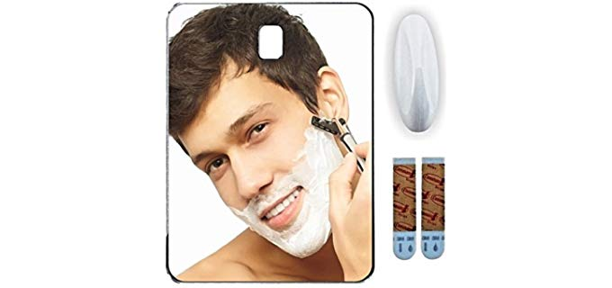 Shave Pal Fog Free - Fog Free Shower Shaving Mirror