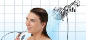 Shower Water Oral Floss Jet