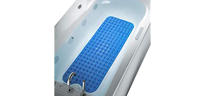 COMUSTER Inside - Shower and Bath Mat for Elderly