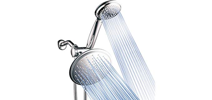 DreamSpa 3-Way - Dual Rainfall Shower Head for Couples