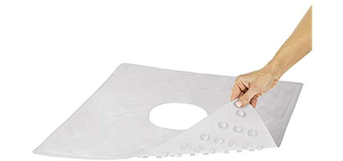 Vive Inside Shower - Non-Slip Shower Mat for Elderly
