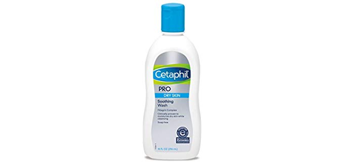Cetaphill Pro Soothing - Shower Gel Wash for Sensitive Dry Skin for Men and Women