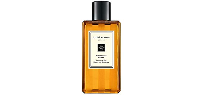 Jo Malone London Blackberry - high End Luxury Shower Oil for Dry Skin