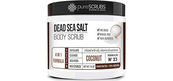 Pure Scrubs Premium Organic - Shower Exfoliator Scrub