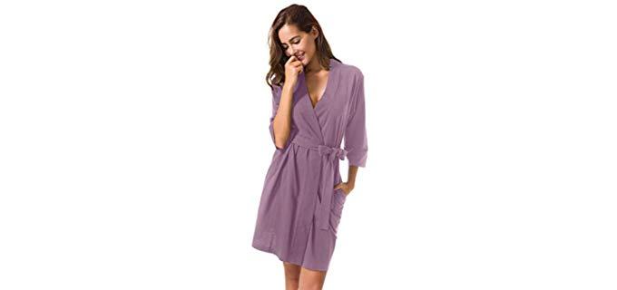 Sioro Kimono - Cotton Shower Robe