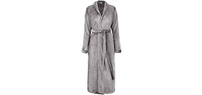 Simplicity Luxurious - Plush Shower Robe