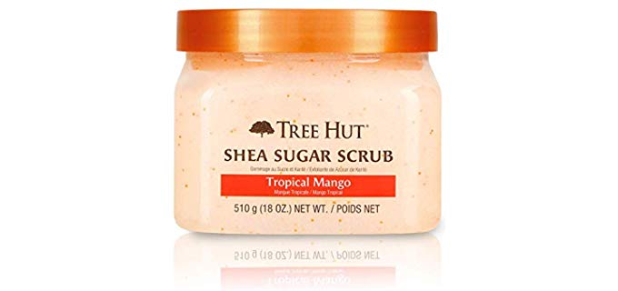 Tre Hut Shea Sugar Scrub - Shower Exfoliator