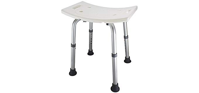 Ez2care Adjustable - Shower Bench