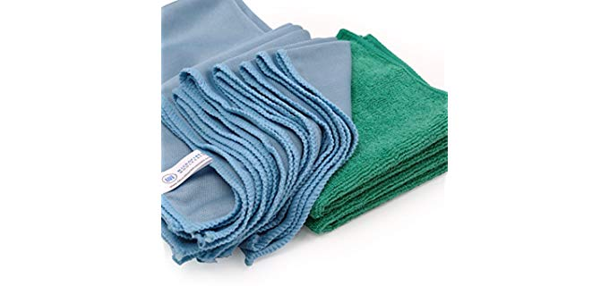 Microfiber Wholesale Glass cleaning - Shower Glass Door Cleaner Cloths