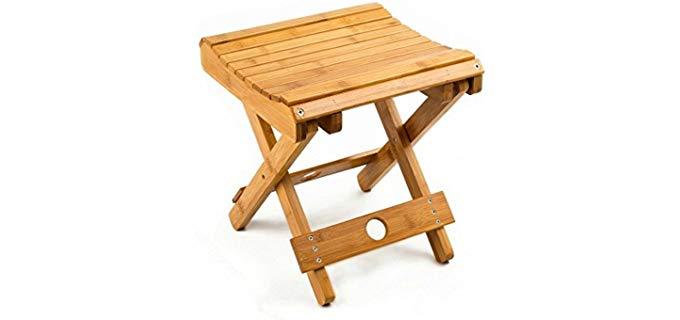 Urforestic Footrest Stool - Shower Bench and Footrest