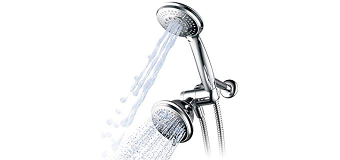 Hydroluxe 3-Way - Dual Shower Head With Hose