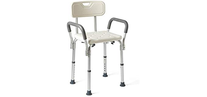 Medline Framed - Easy-Clean Shower Chair