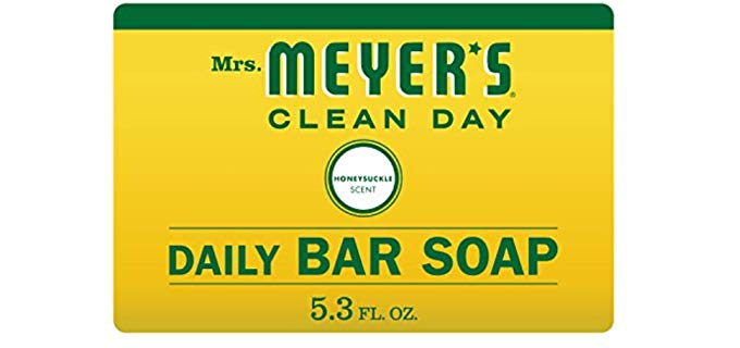 Mrs Meyer's Honey Suckle - Shower Bar Soap