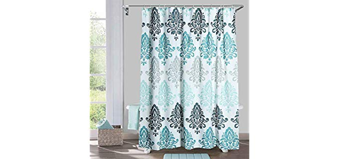 Yougai Washable - Printed Shower Curtains for Small Bathrooms