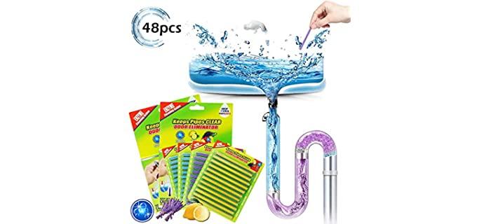 Coodoo Organic Sticks - Shower Drain Cleaner