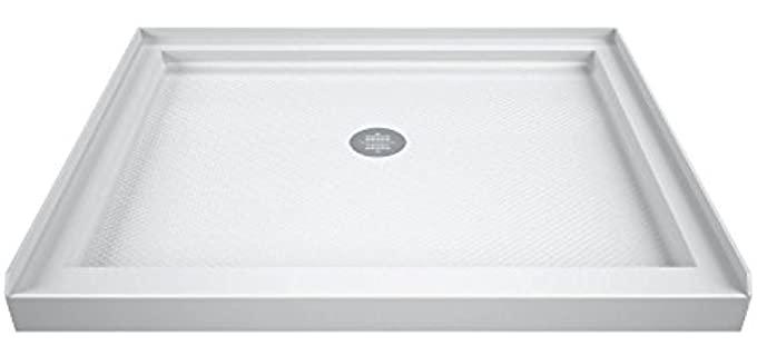 DreamLine White - Slimline Shower Base