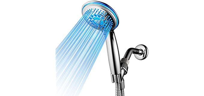 Dream Spa Automatic - Colored Led Shower Head