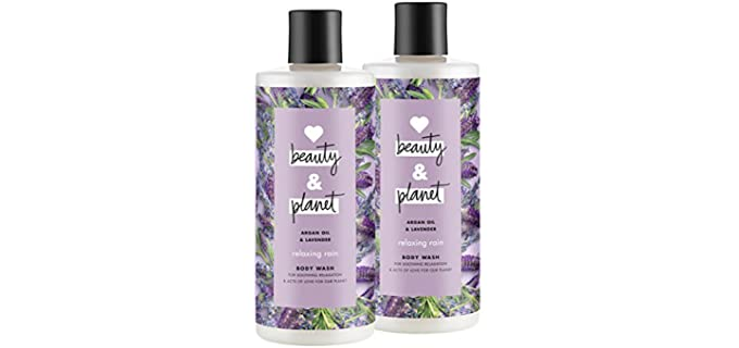 Beauty and Planet Love and Beauty - Natural Shower Oil for Dry Skin