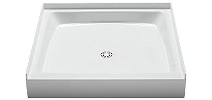 PROFLO Single Curb - Rectangular Shower Pan