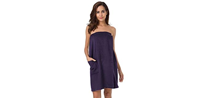Sioro Bamboo - Cotton Shower Robe