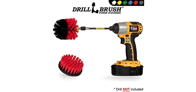 Drillbrush Soft-Bristle - Shower Cleaner Brush