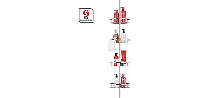 SeiriOne 4 Tier - Corner Pole Caddy