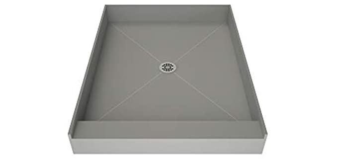 Tile Redi PVC Base - Black Shower Pan