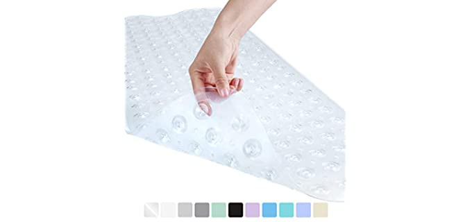 YINENN Washable - Shower Mat with Suction Cups