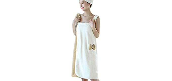 Ylucky Terry - Beach Style Shower Robe