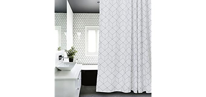 Aimjerry Solid - Cuboid Shower Curtain