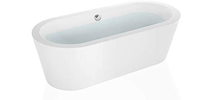 Empava Acrylic Large - Premium Acrylic Bathtub