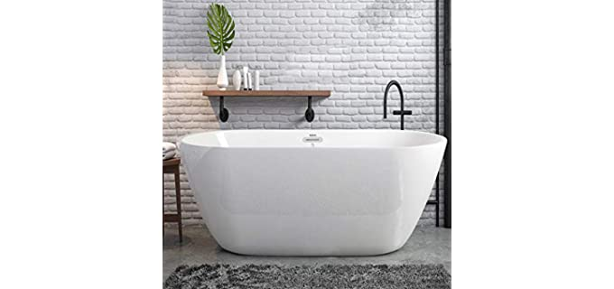 FerdY Assembled - White Acrylic Bathtub