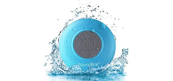 SoundBot Eco-Friendly - Compact Shower speaker
