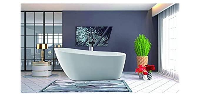 Vanity Art Polished - Luxurious Acrylic Bathtub