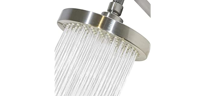 CircleSplash Self-Clean - High Pressure Shower Head