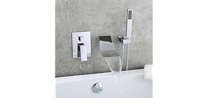 KunMai Brass - Stylish Bathtub Faucet