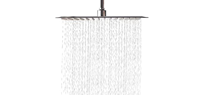 Lordear Solid Square - Waterfall Shower Head