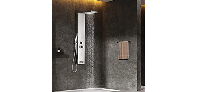 Adbatnos Tube - Glossy Shower Panel