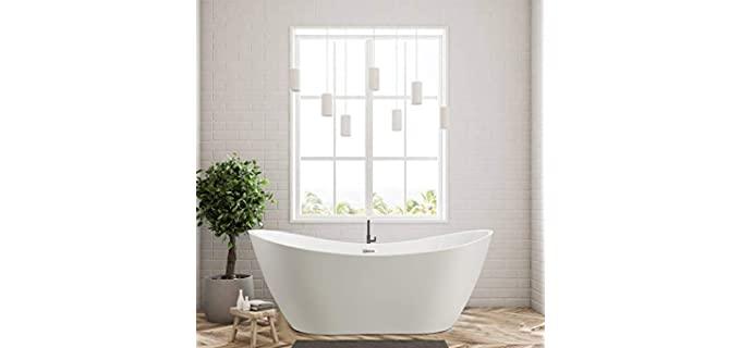 Vanity Art High gloss - Freestanding Tub