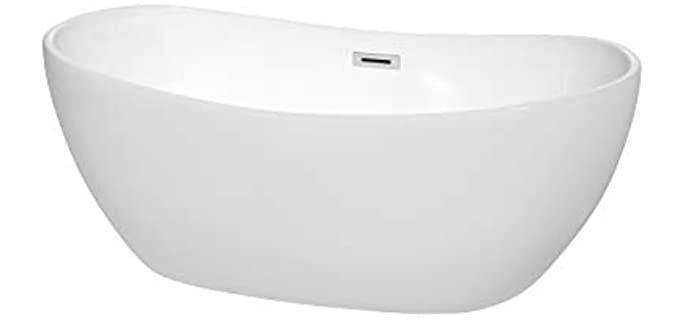 Wyndham Polished - Freestanding Tub