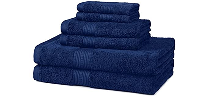 AmazonBasics No-Fade - Durable Shower Towel