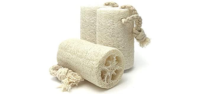 BIO301 Non-Toxic - Natural Shower Loofah