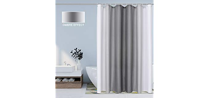 Bermino Ombre - Durable Shower Curtain