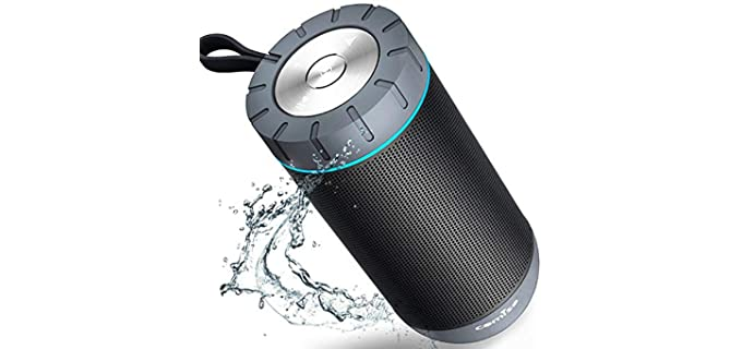 COMISO Wire-Free - Stereo Shower Speaker