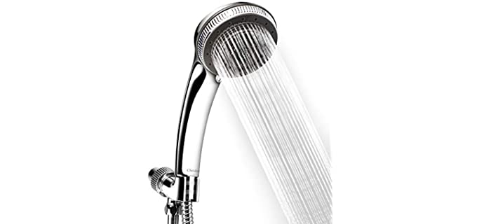 Chrider Chrome - Relaxing Shower Head With Hose