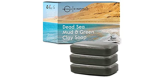 O Naturals Dead Sea Mud - Vegan Shower Soap