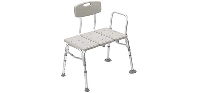 Drive Medical 400-Pound - Shower Transfer Bench
