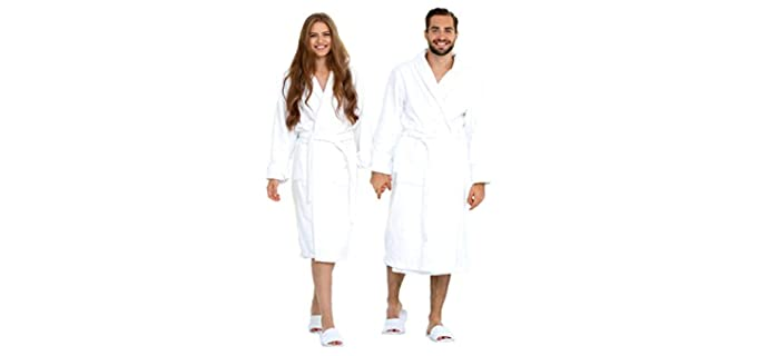 Eco Linen Cotton - Shower Bathrobe