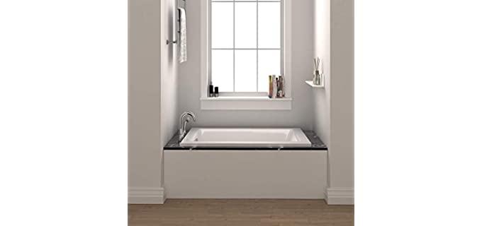 Fine Fixtures Fiberglass - Compact Acrylic Bathtub