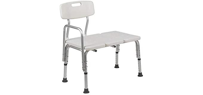 Flash Furniture Hercules - No-Slip Shower Transfer Bench